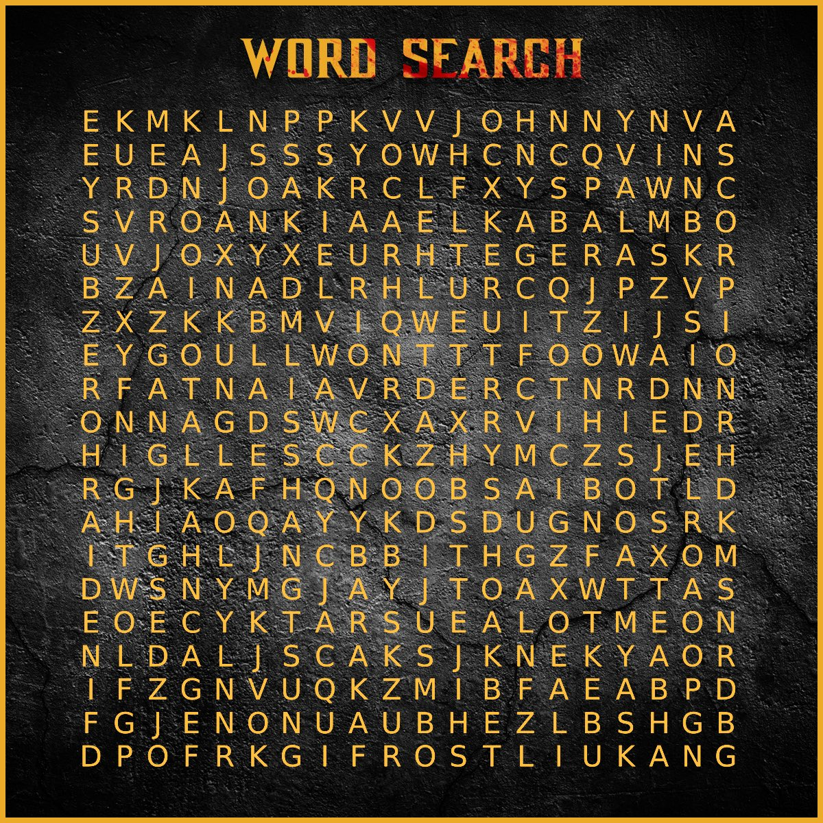 MK Word Search