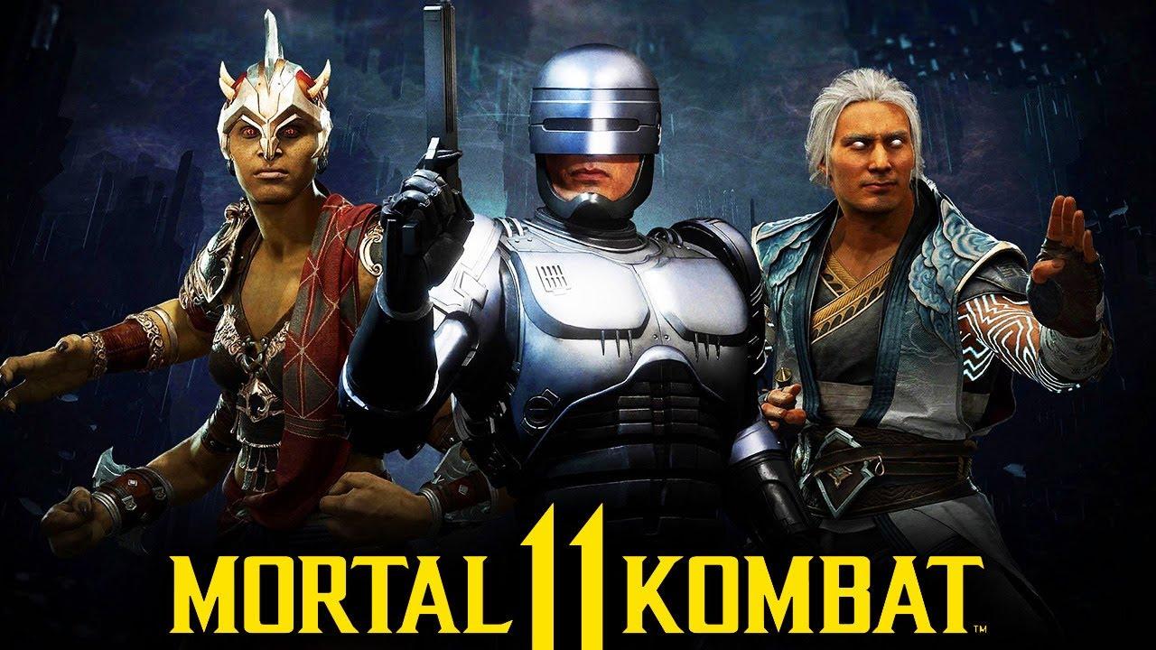 Mortal Kombat 11: Aftermath - Fujin, Sheeva, and Robocop