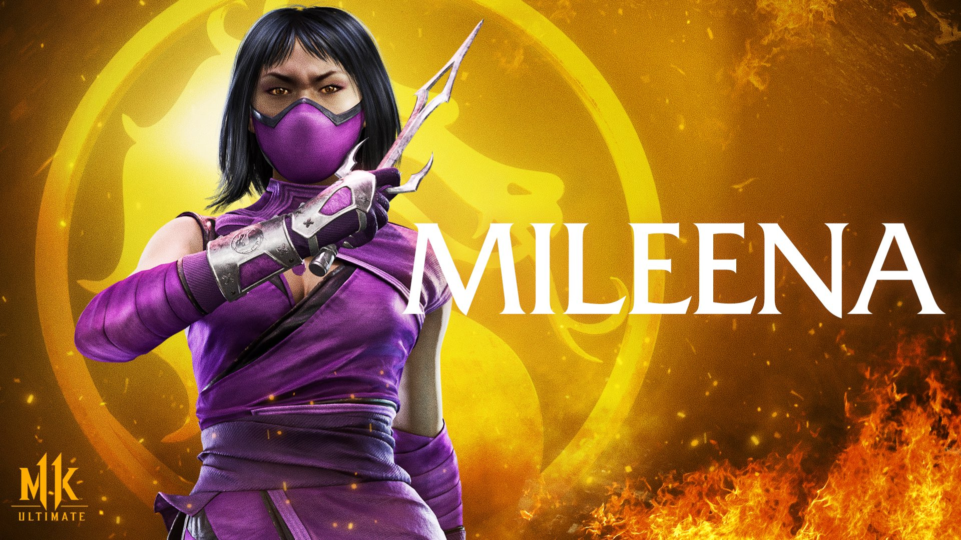 Background MK11 Ultimate Mileena