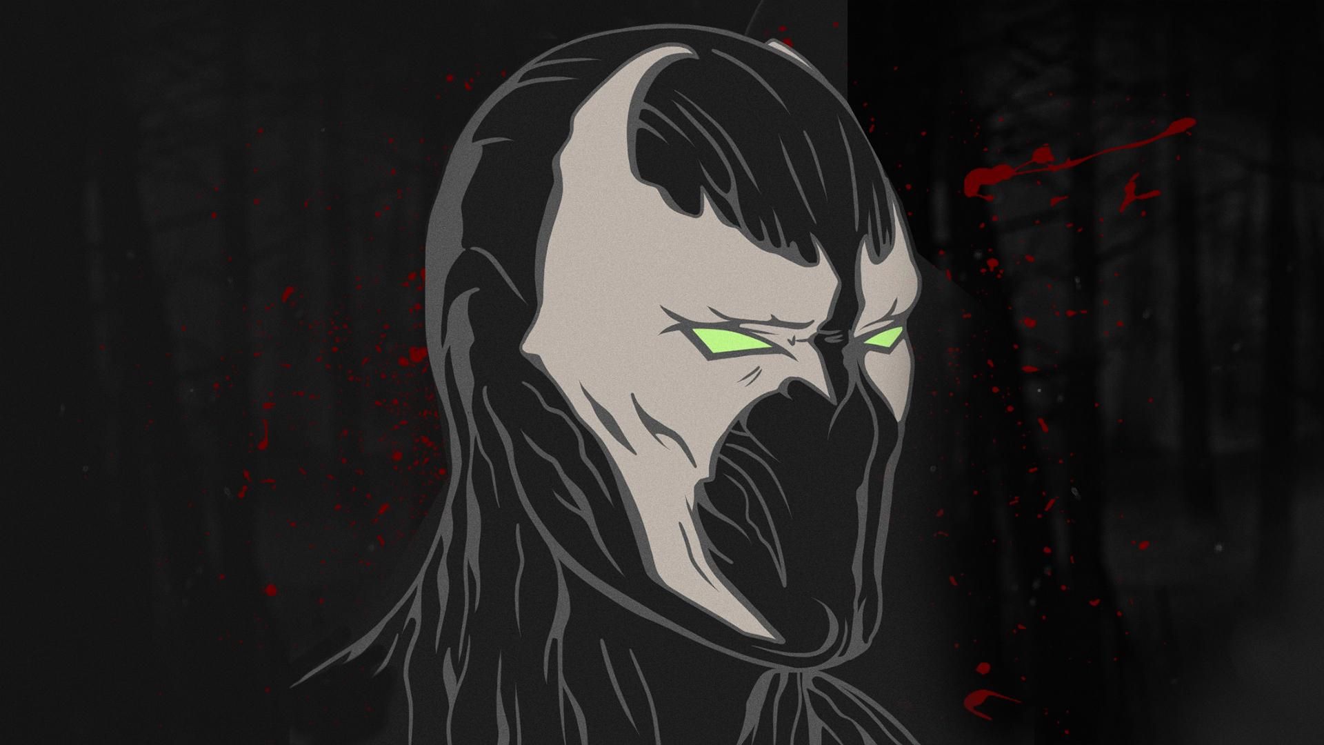 Wallpaper Mortal Kombat 11 Spawn