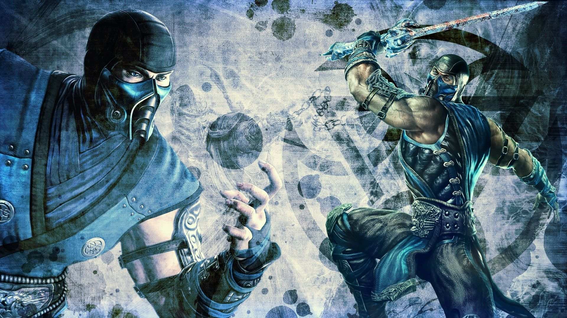 Mortal Kombat wallpaper Sub-Zero