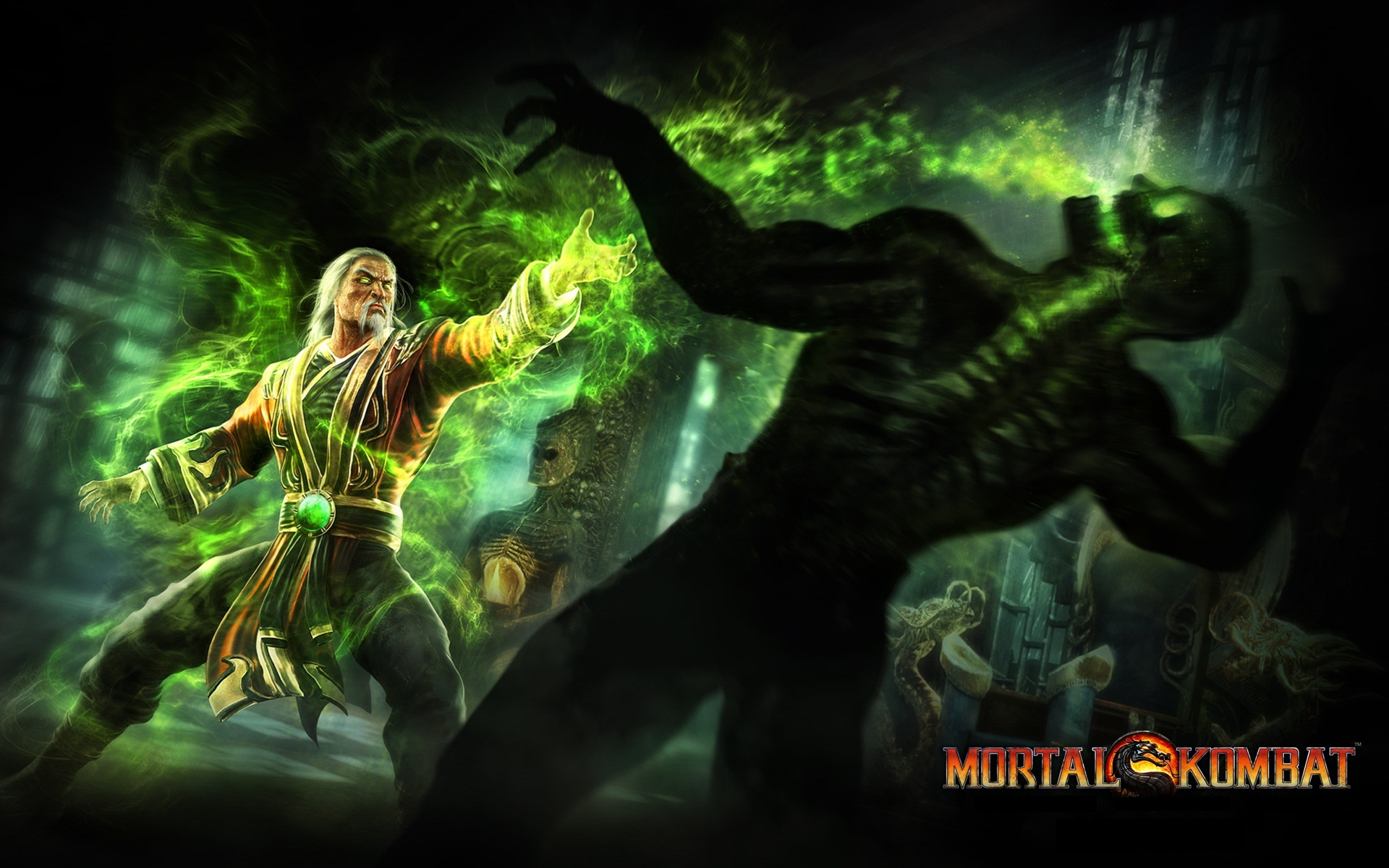 Mortal Kombat wallpaper Shang Tsung