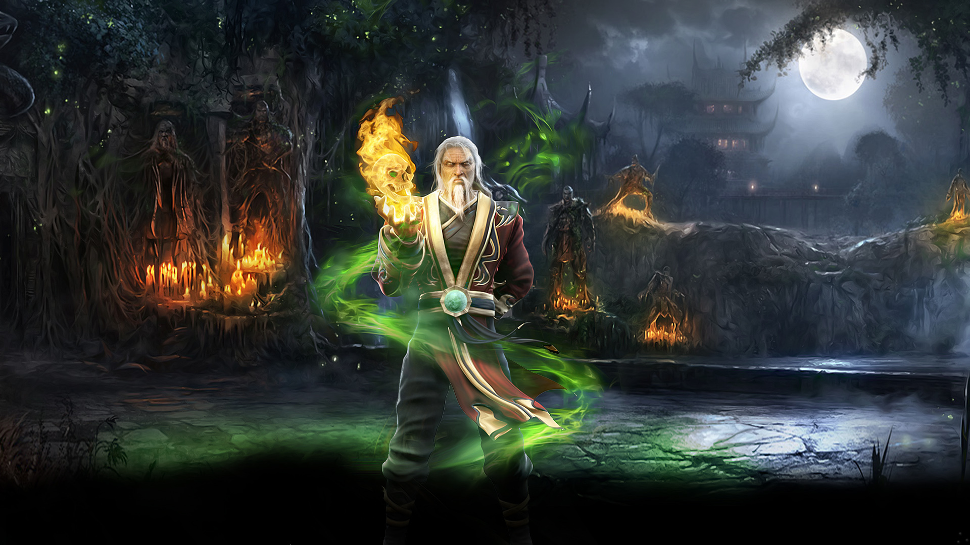 Mortal Kombat wallpaper Shang Tsung 2