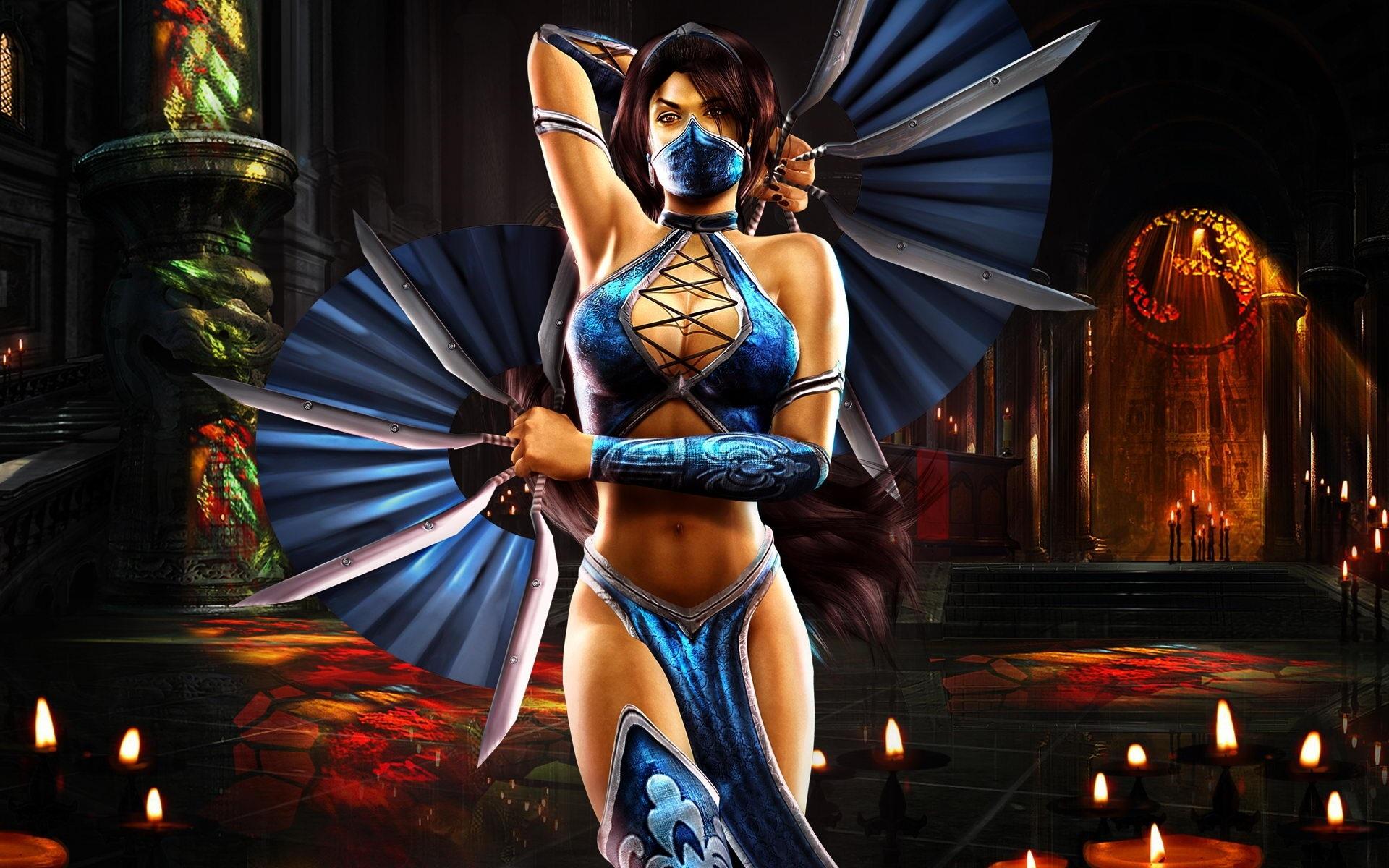 Mortal Kombat Wallpaper Kitana