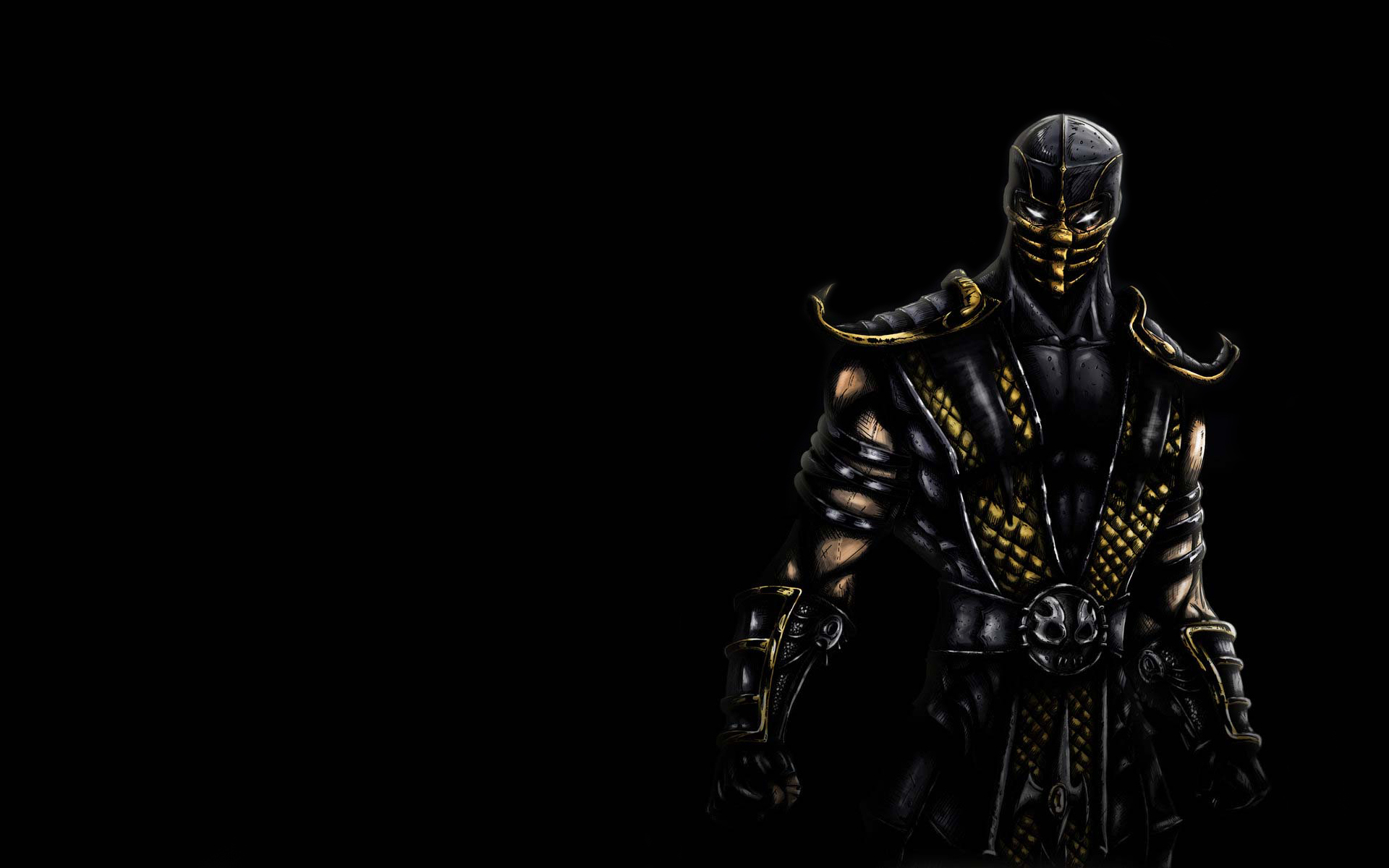 mortal kombat wallpaper scorpion 3 » mortal kombat games, fan site!