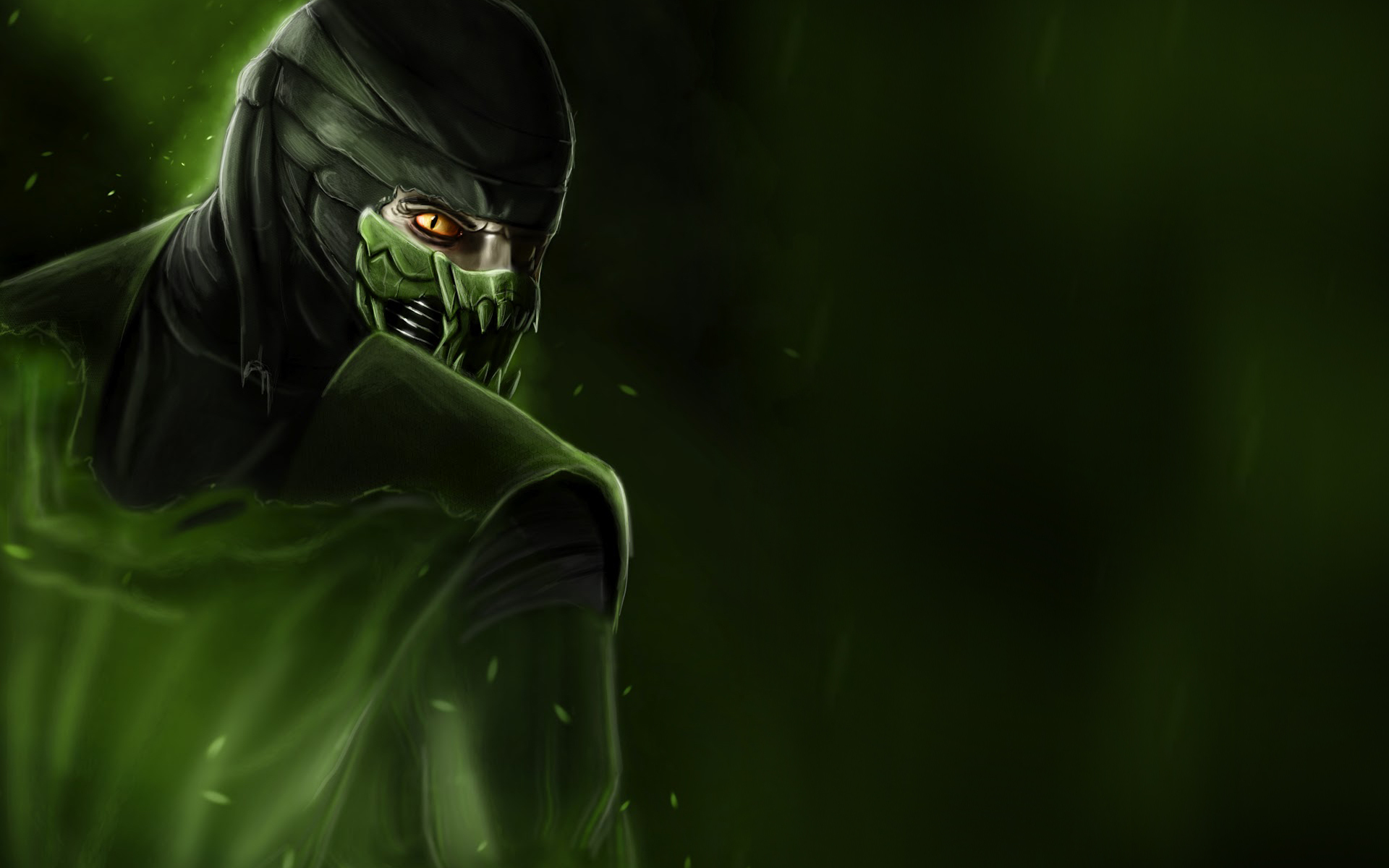 Mortal Kombat wallpaper Reptile