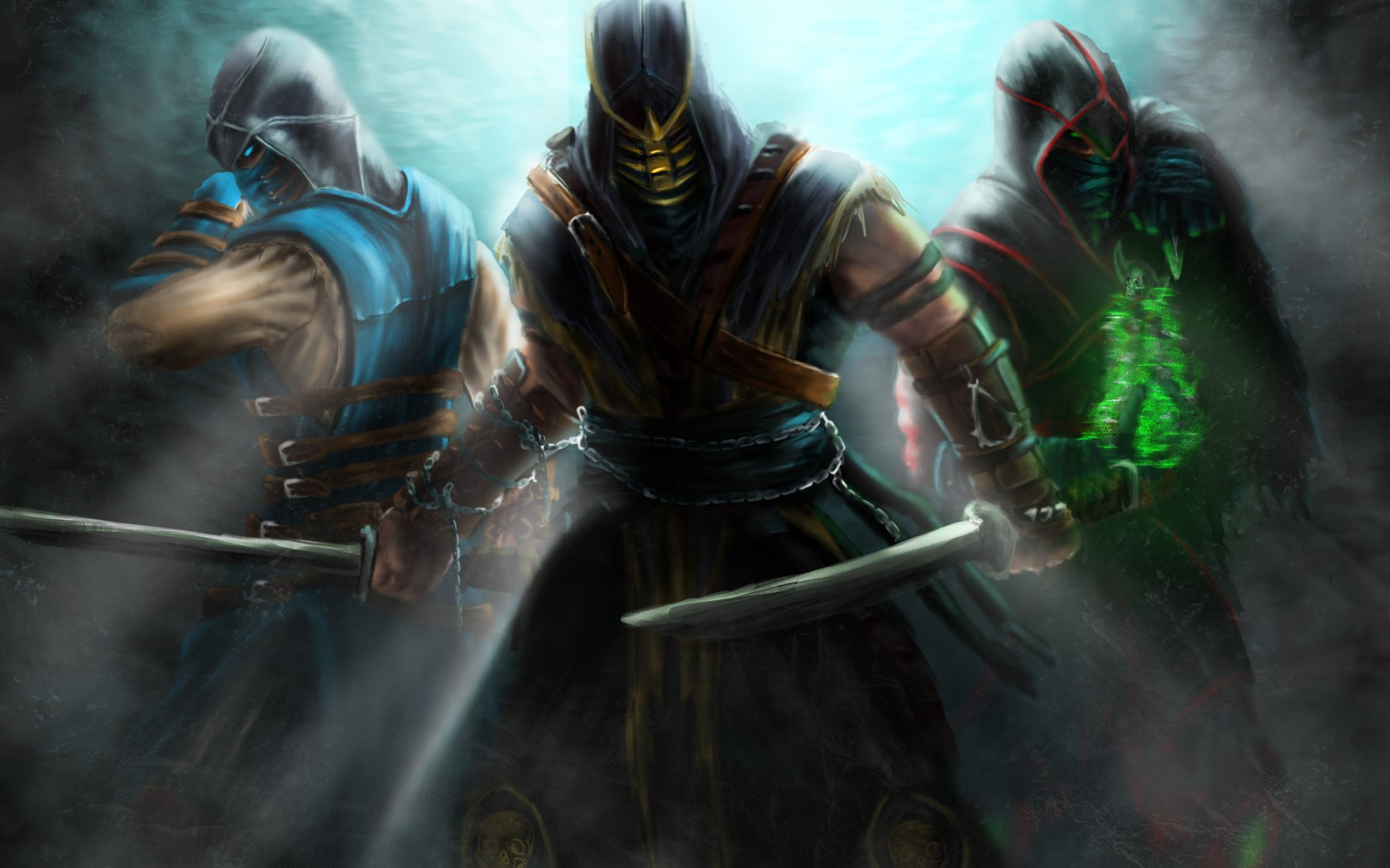 Mortal Kombat wallpaper Troika