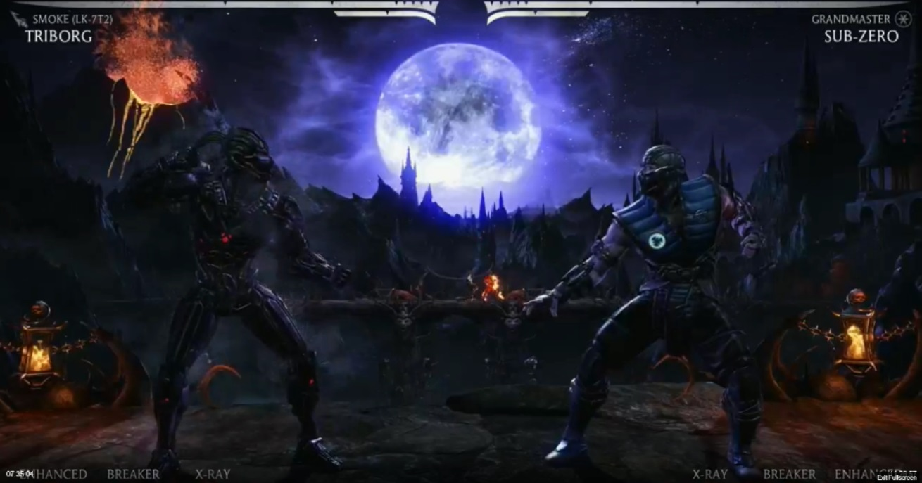 Mortal Kombat X: Triborg - Smoke variation video