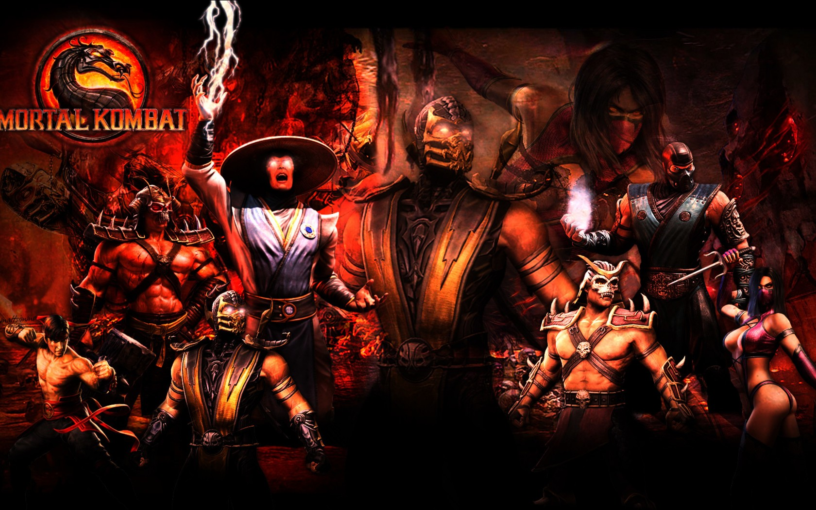 Mortal Kombat wallpaper Fighters 2 » Mortal Kombat games ...