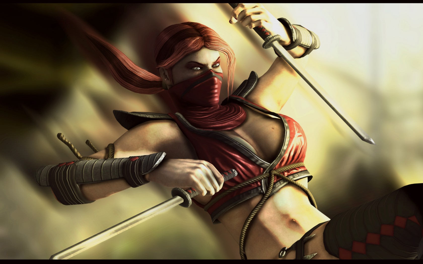 Mortal Kombat wallpaper Scarlet 5
