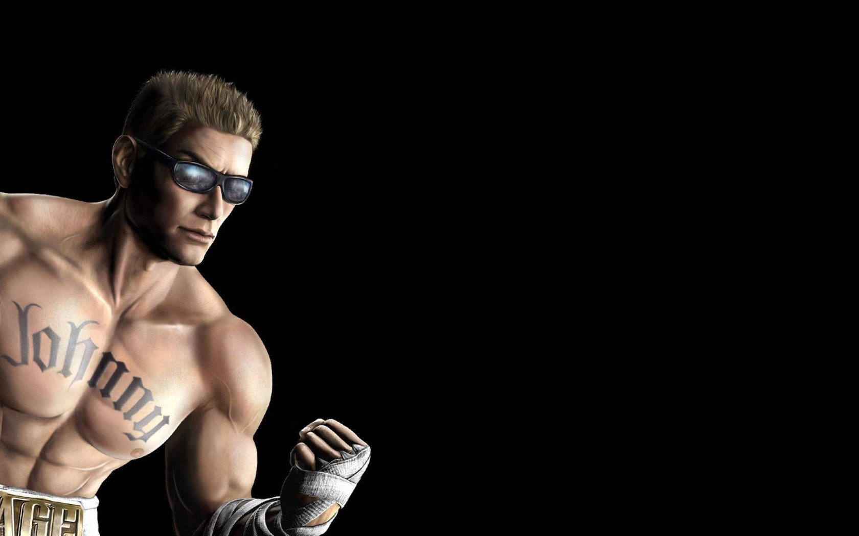 Mortal Kombat wallpaper Johnny Cage