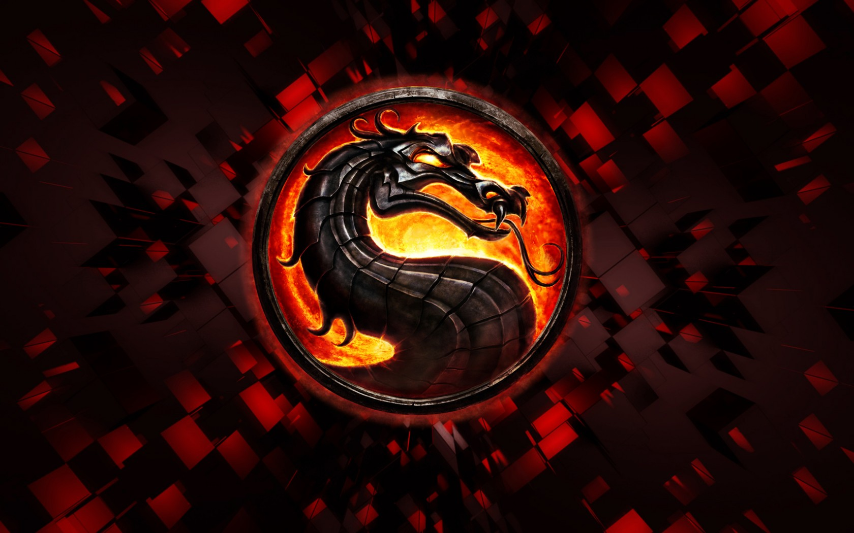 Mortal Kombat wallpaper Logo 4