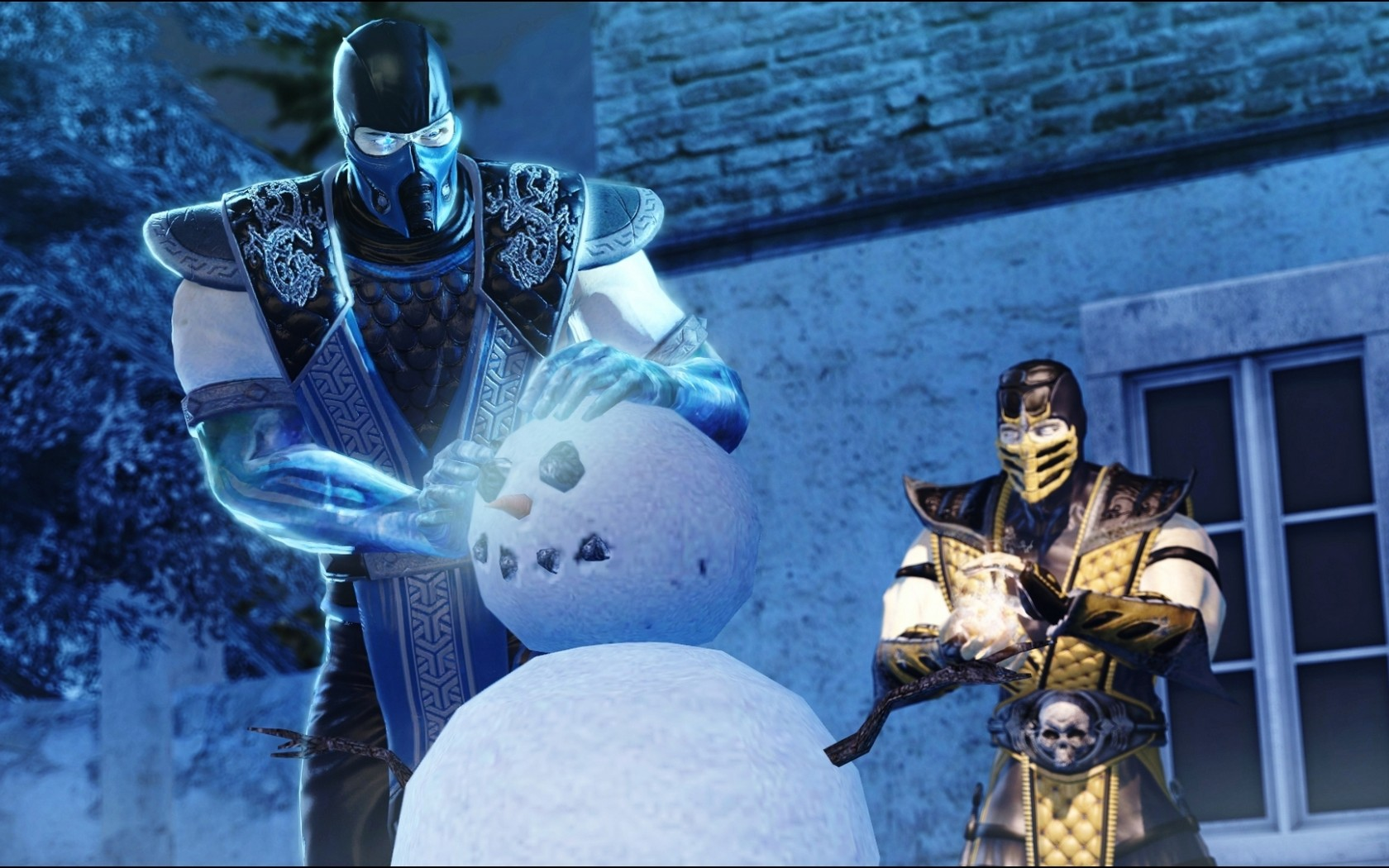 Mortal Kombat wallpaper Snowman