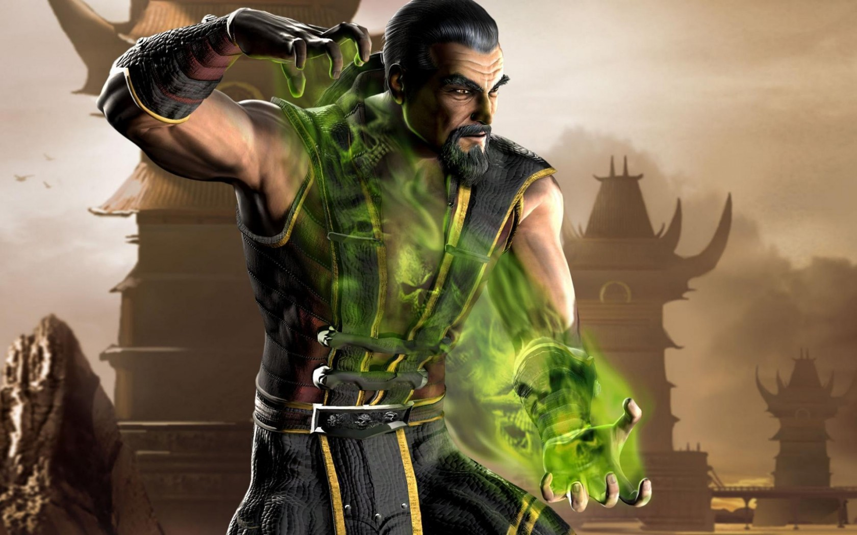 Mortal Kombat wallpaper Shang Tsung 3