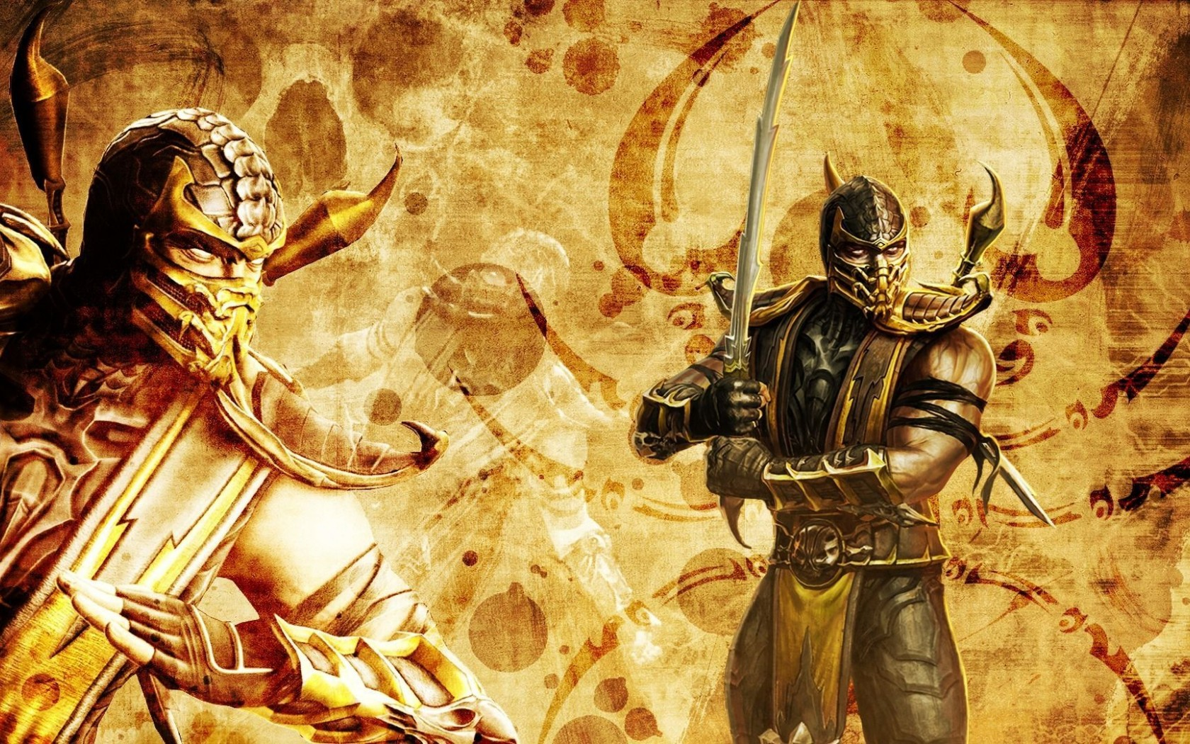 Mortal Kombat wallpaper Scorpion 9