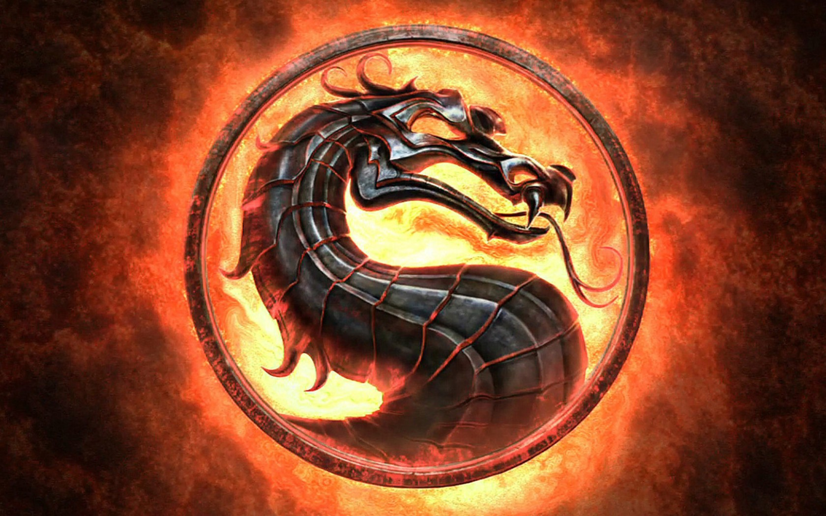 Mortal Kombat wallpaper Logo 6