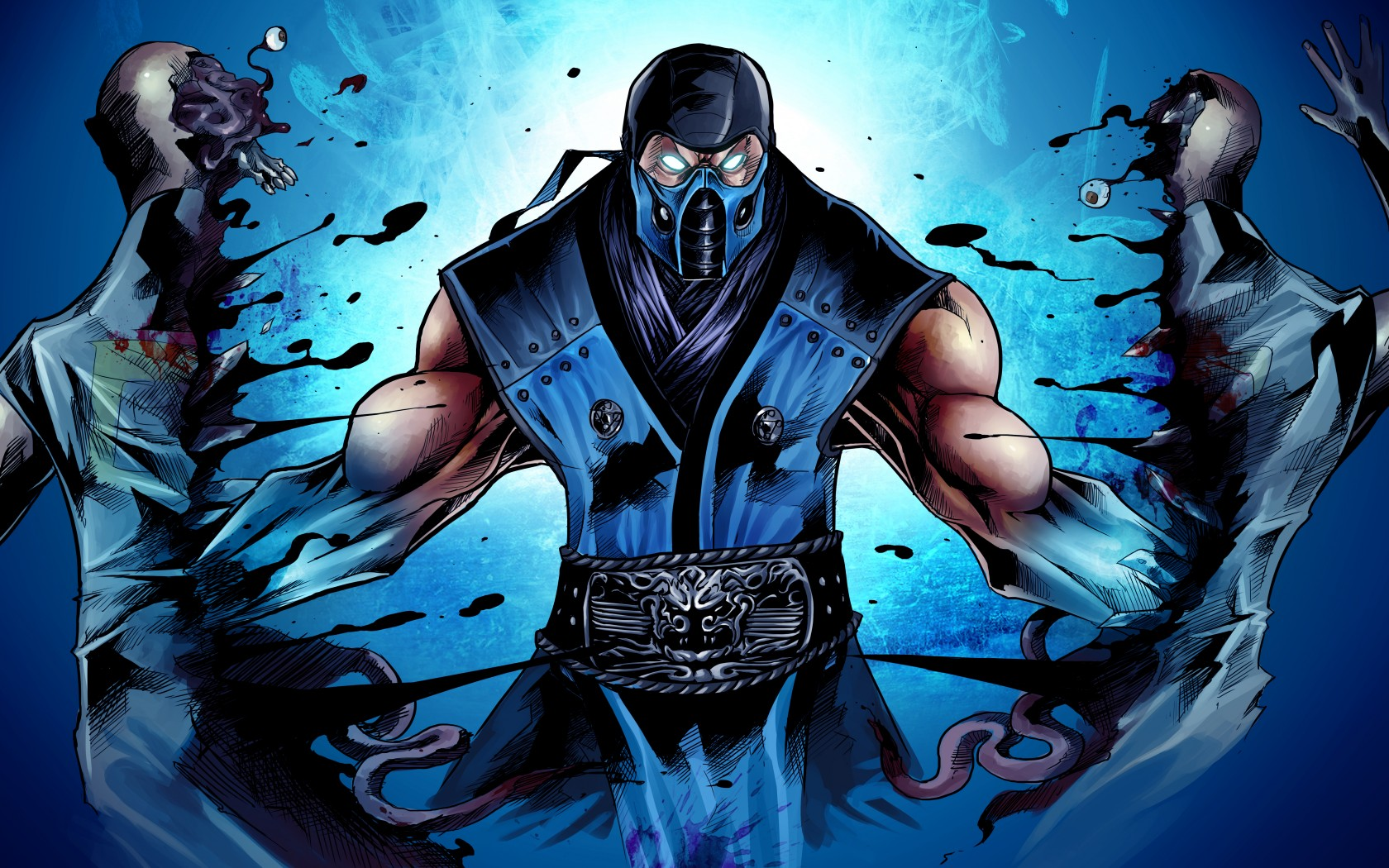Mortal Kombat wallpaper Sub-Zero 13