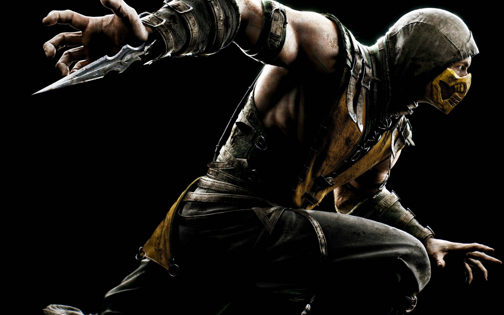 Mortal Kombat wallpaper Scorpion 11