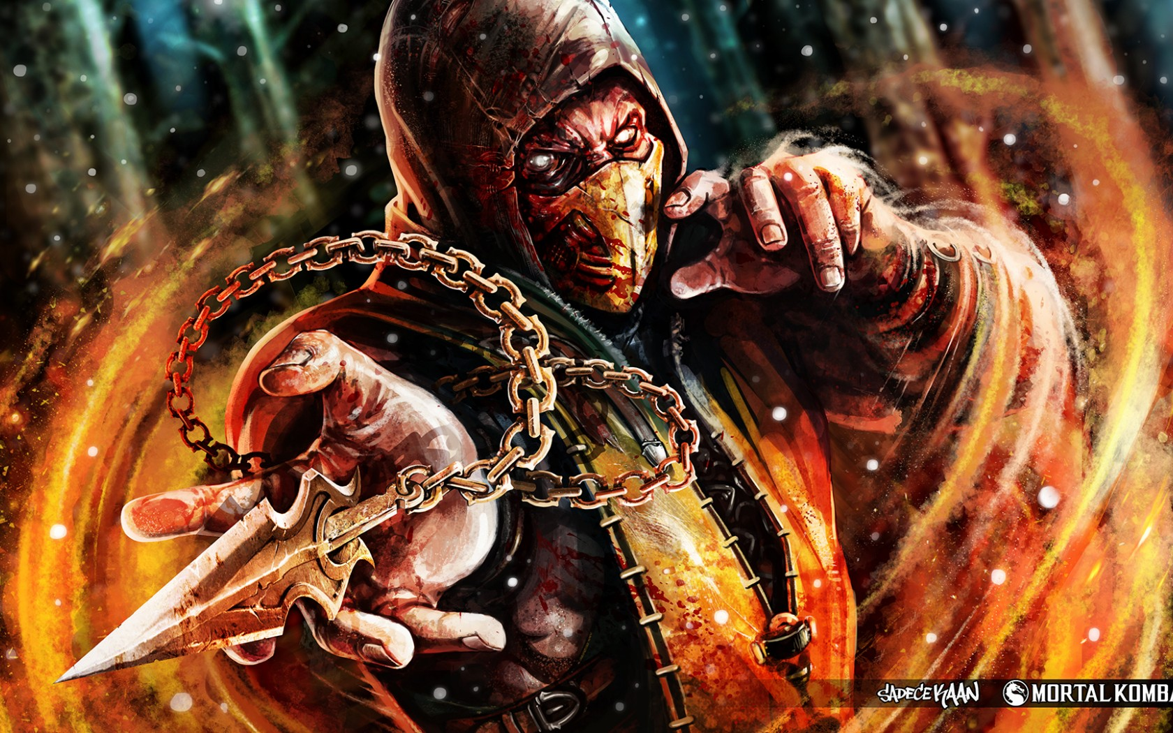 Mortal Kombat wallpaper Scorpion 15