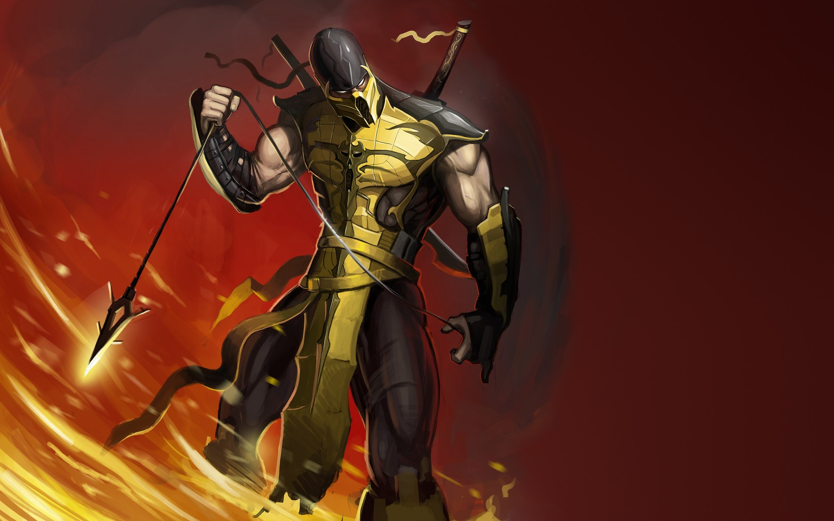 Mortal Kombat wallpaper Scorpion 16
