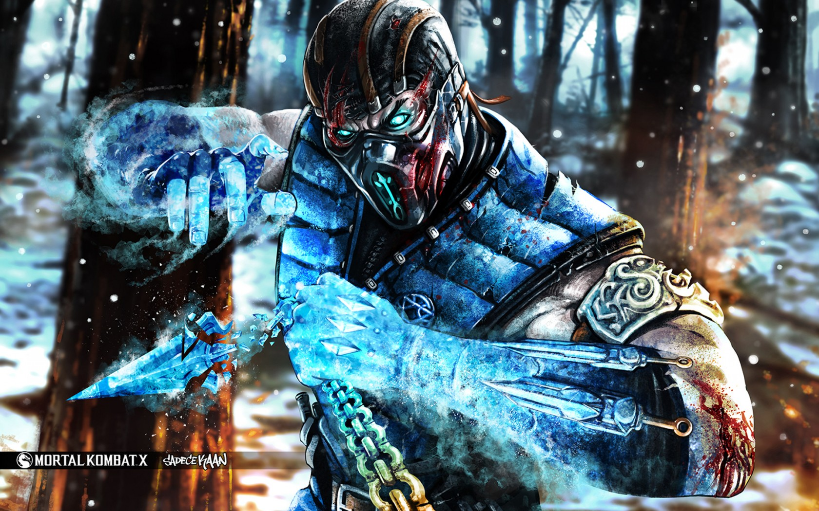 Mortal Kombat wallpaper Sub-Zero 16
