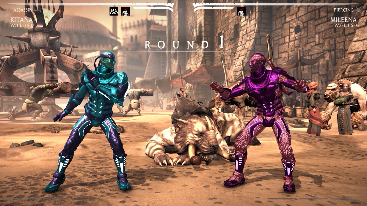 Download Mortal Kombat X PC DLC Mod Cyber Kitana free