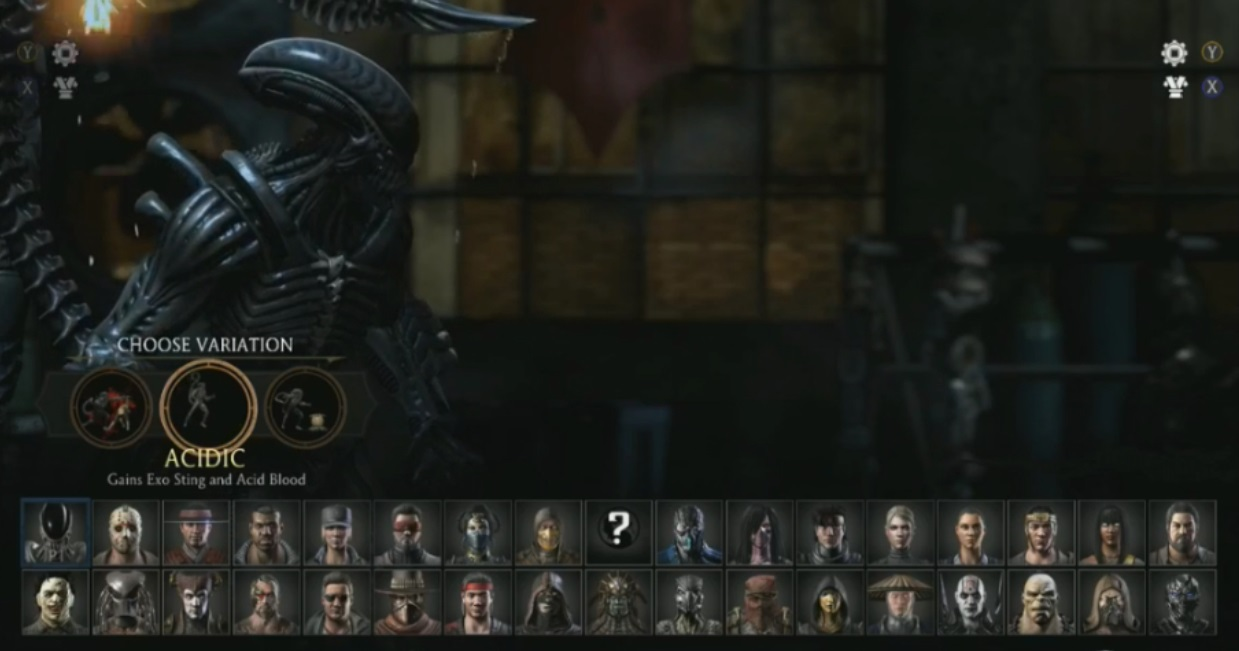Mortal Kombat X: Alien Variation Breakdown video