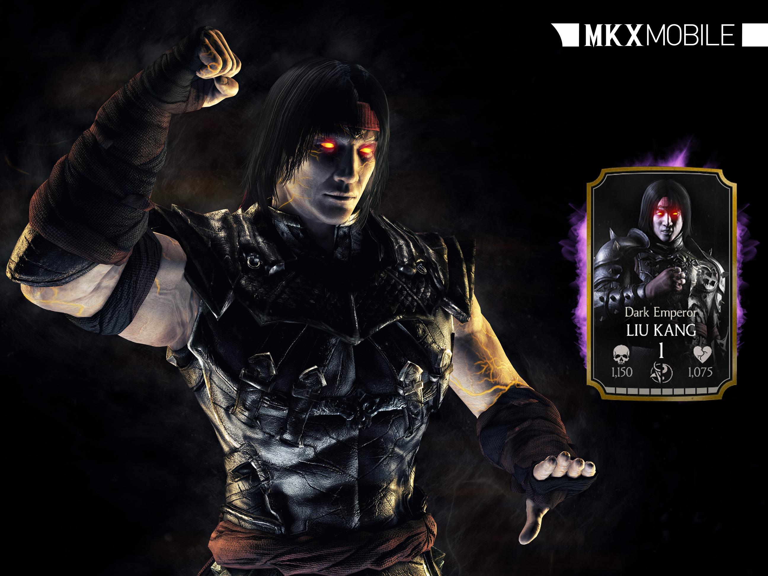 Dark Emperor Liu Kang Mortal Kombat X Mobile » Mortal Kombat