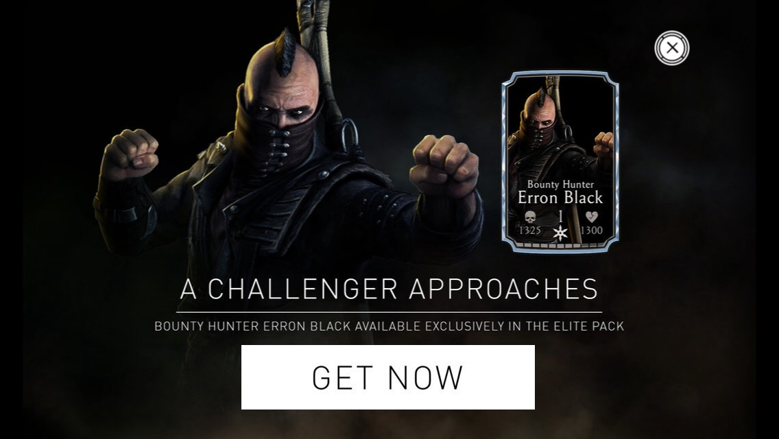 Bounty Hunter Erron Black Mortal Kombat X Mobile » Mortal