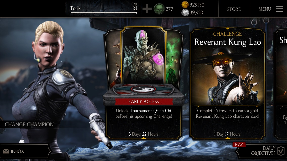 Tournament Quan Chi early access available » Mortal Kombat games