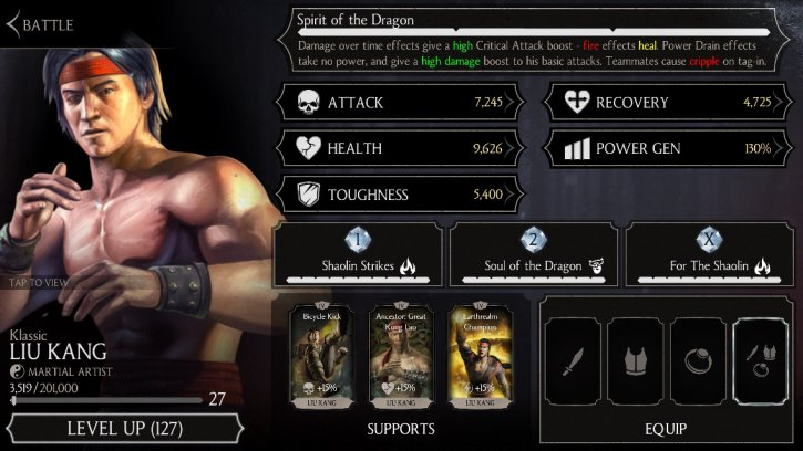 Shokan Warrior Kintaro MKX Mobile » Mortal Kombat games