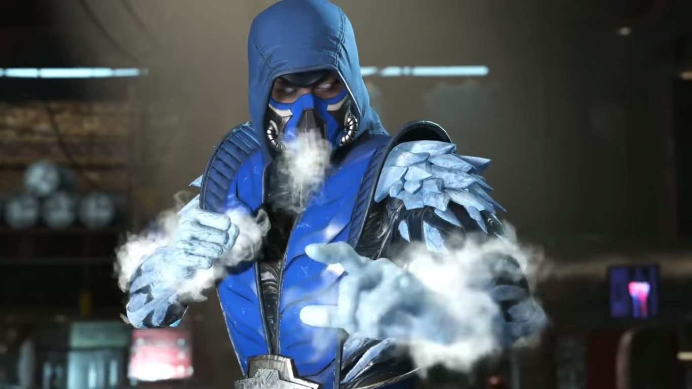 Injustice 2 - Sub-Zero gameplay video