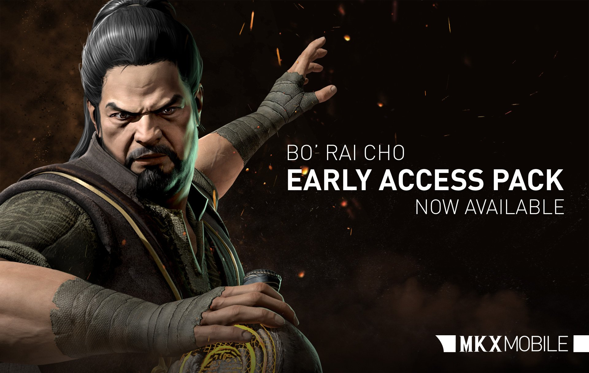 Dragon Breath Bo Rai Cho Mortal Kombat X Mobile