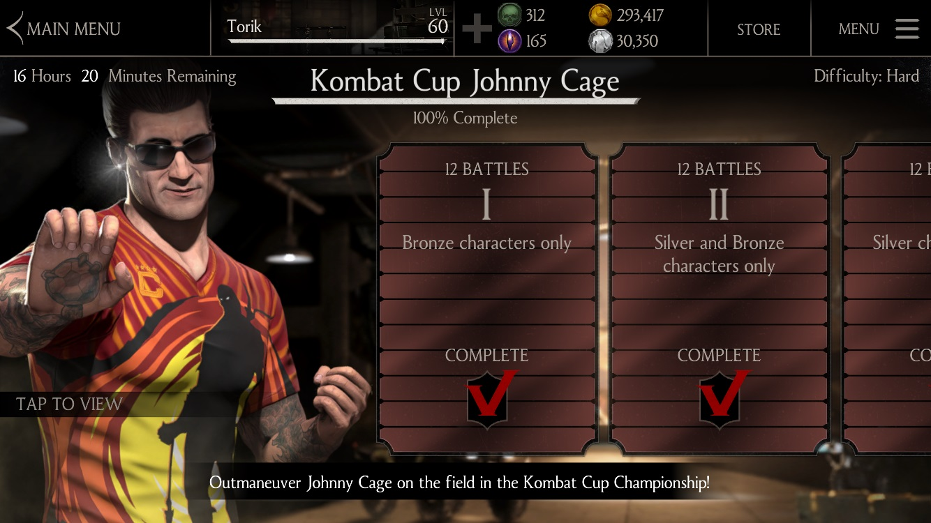 Cage Family Pack available Mortal Kombat X mobile » Mortal