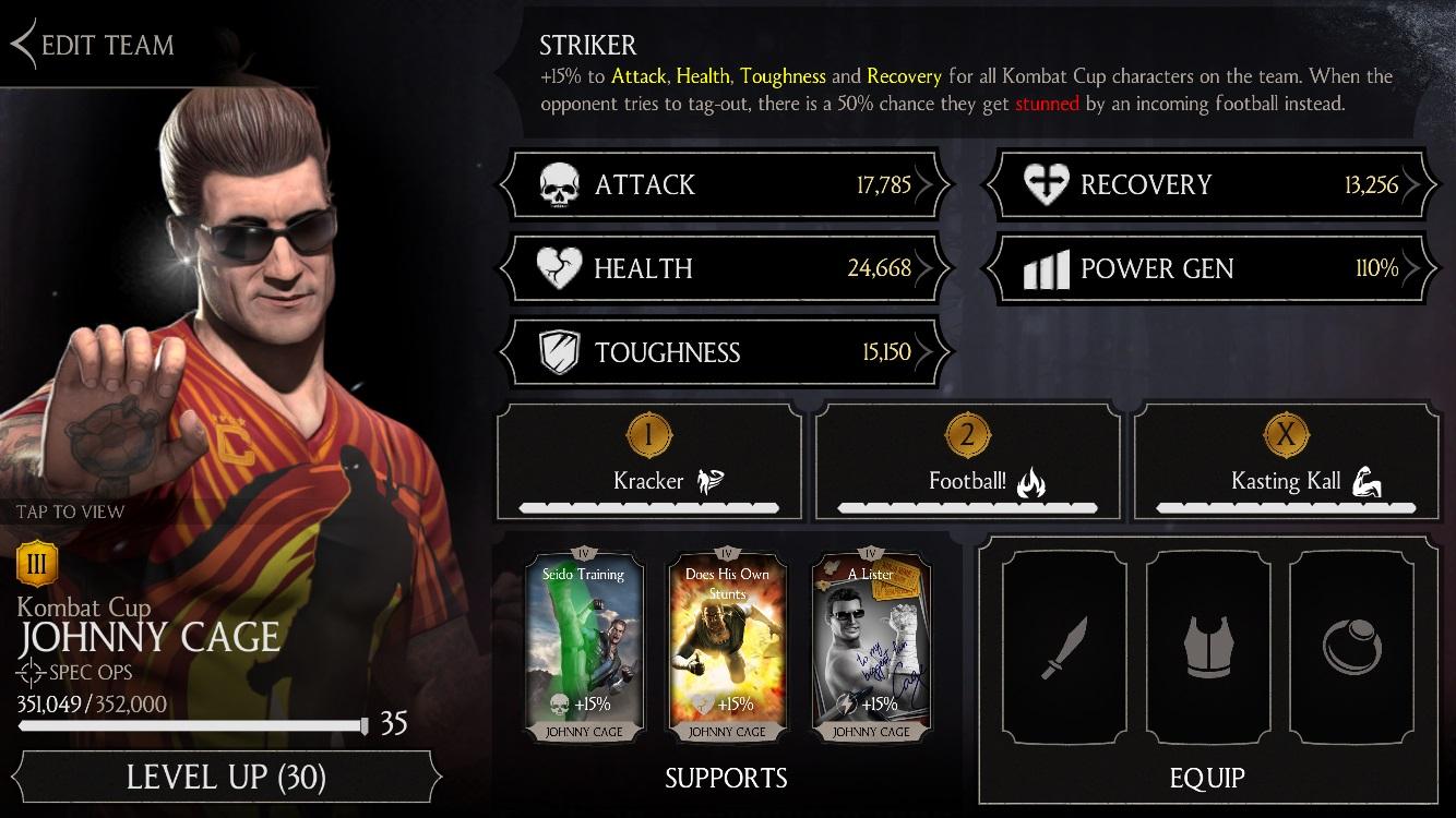 Kombat Cup Sonya Blade MKX Mobile » Mortal Kombat games
