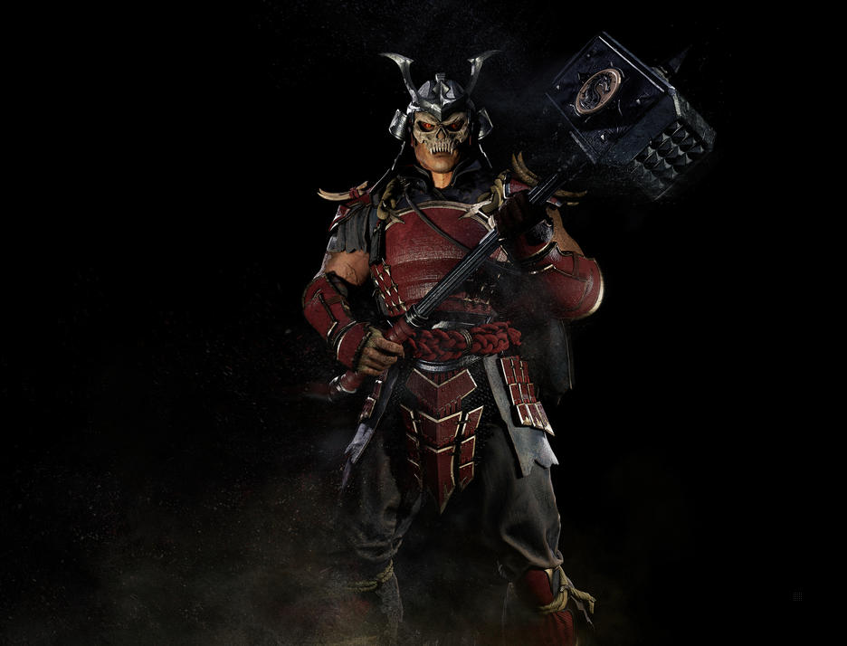Shao Kahn's new render for MK 11