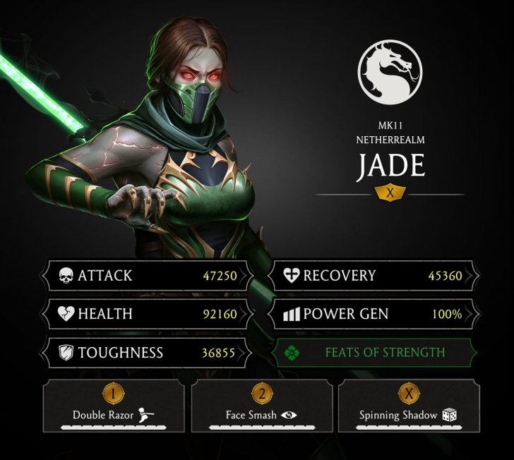 MKMobile MK11 Jade Mortal Kombat games fan site