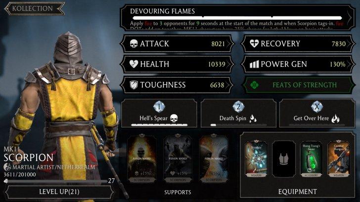 MK:Mobile - MK11 Scorpion » Mortal Kombat games, fan site!